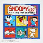 Snoopy Etc Catalog - Peanuts Gang Squares