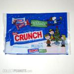 Peanuts Christmas Nestle Crunch Minis