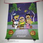 Peanuts Halloween Chocolate Milk Poster