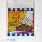 Peanuts Microwave Chex Party Mix seasoning pack
