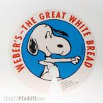 Snoopy Weber's The Great White Bread Tie