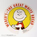 Charlie Brown Weber's The Great White Bread Tie