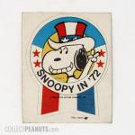 Snoopy 'Snoopy in '72' Patch