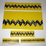 Charlie Brown Zigzag shelf wrap
