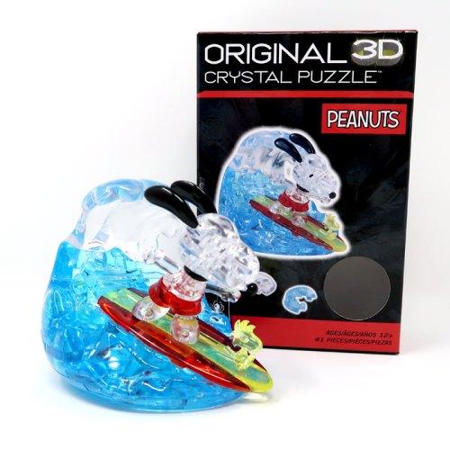 Snoopy Surfer Original 3D Crystal Puzzle