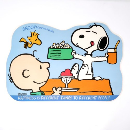 Snoopy & Charlie Brown Activity Placemat