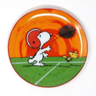 Snoopy Football Plate