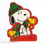 Snoopy and Woodstocks with holly Gift Trim