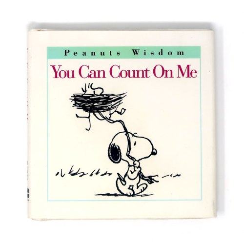 You Can Count on Me Peanuts Book