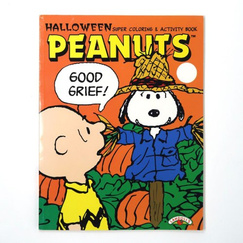 Scarecrow Snoopy Halloween Coloring Book