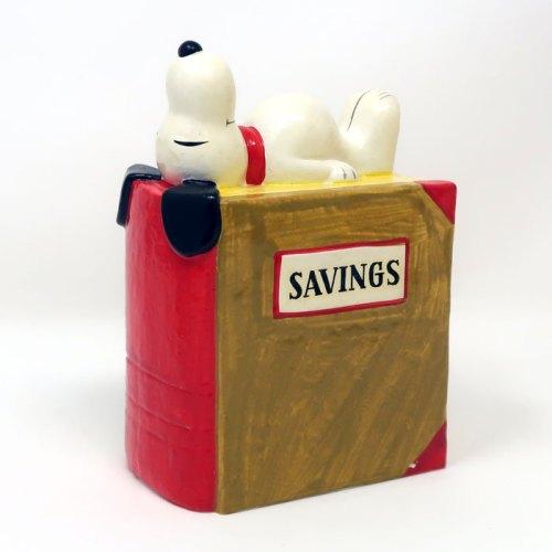 Snoopy Savings Book Bank
