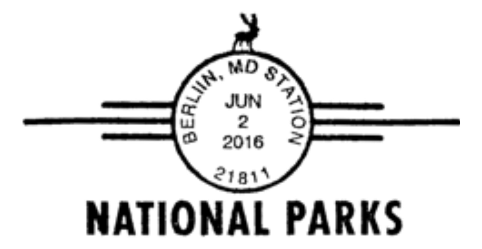 National Parks (sixteen different postmarks) — 2016-06-02