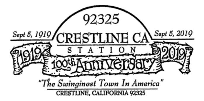 100th Anniversary, Crestline, California — 2019-09-05