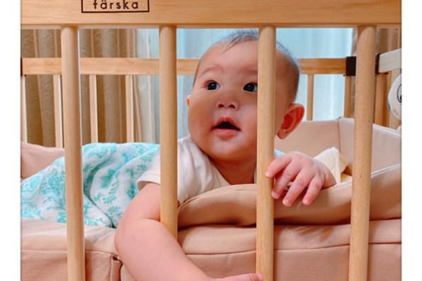 日本farska 真心推薦必買的多功能床邊床/嬰兒床