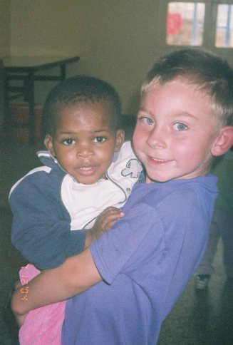 My son with Sammy, 2004, now a member of the SoH family