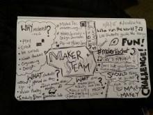 My photobomber's Sketch Note
