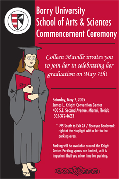 My Graduation Invitation