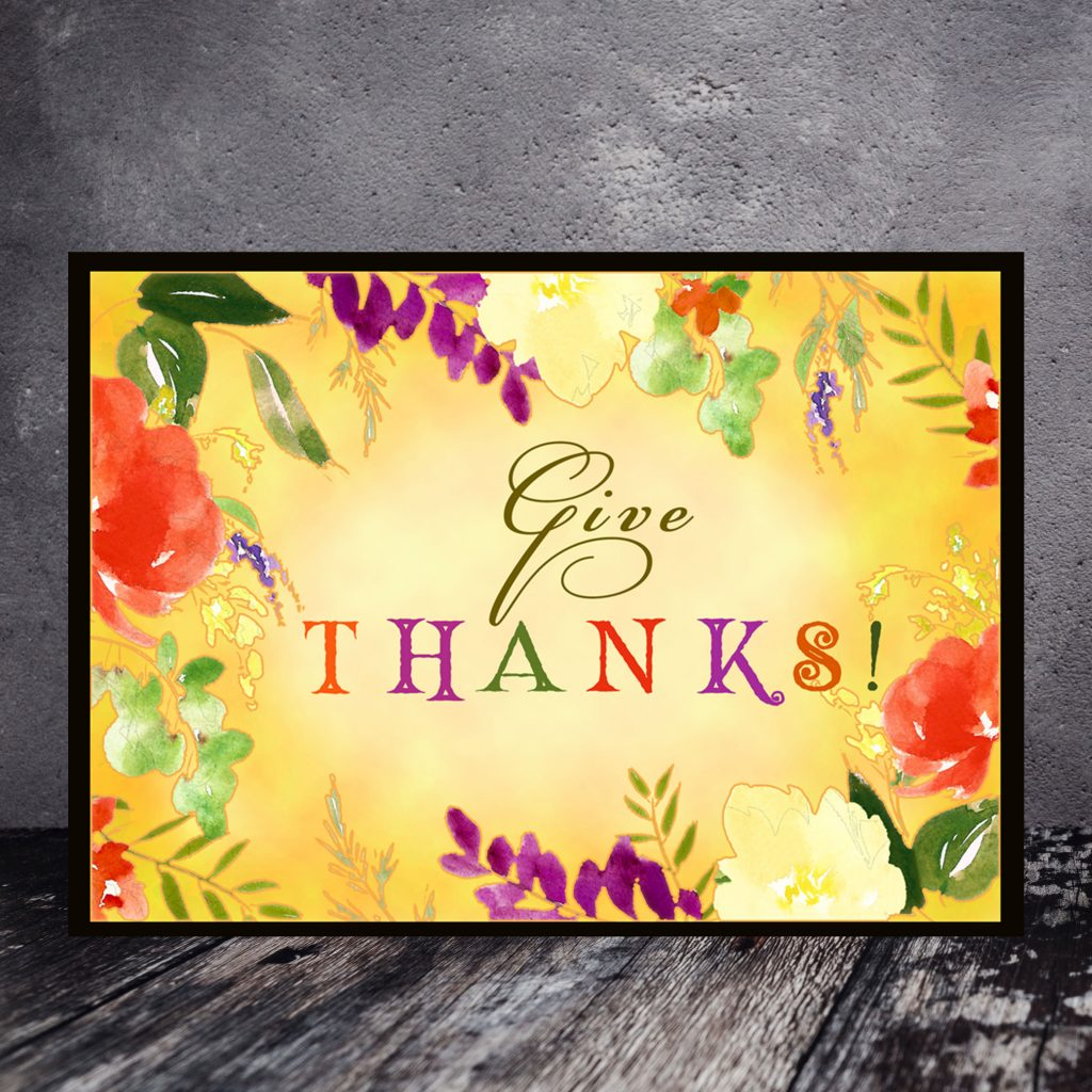 free printable thanksgiving