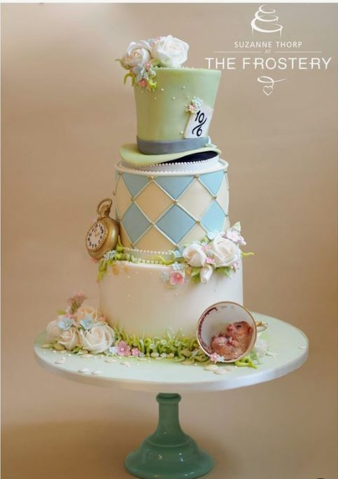 Alice in Wonderland Cake from the Frostery.