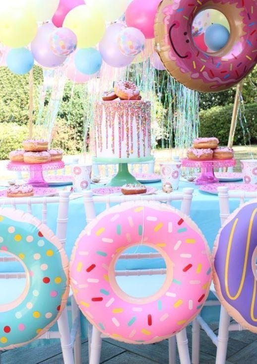donut party decor