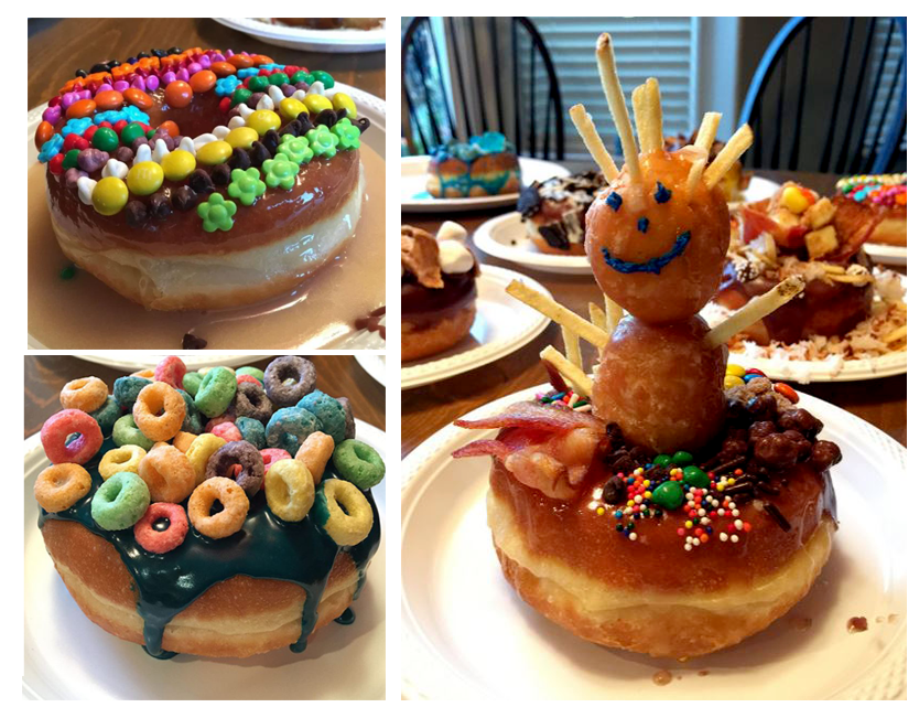 donut decoration party
