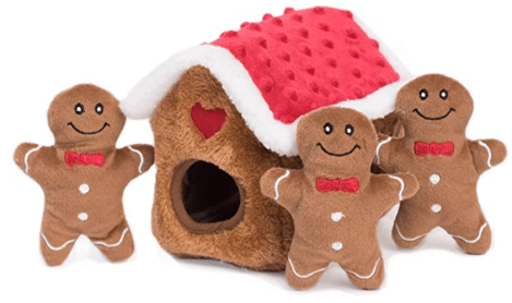 gingerbread dog toys
