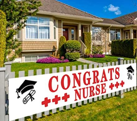 Congrats Nurse Yard Sign