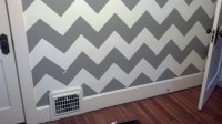 The Official Guide to Painting a Chevron Wall // In 6 ...