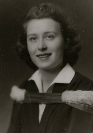 Colleen at the University of Toronto 1949