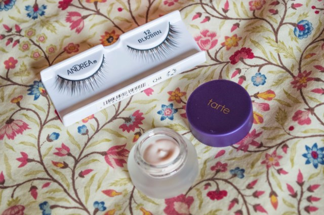 andrea lashes tarte timeless smoothing primer