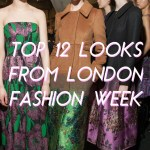 TOP 12 LOOKS FROM LONDON FASHION WEEK