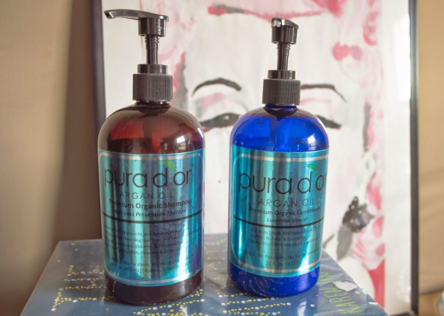 REVIEW: PURA D'OR ARGAN OIL HAIR LOSS PREVENTION SHAMPOO & LAVENDER VANILLA CONDITIONER
