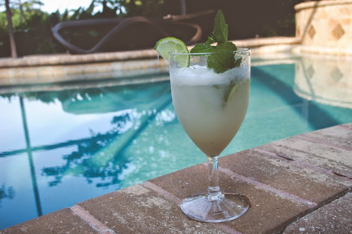 coconut mojito cocktail