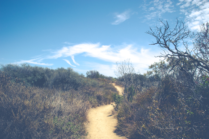 temescal canyon hiking santa monica california