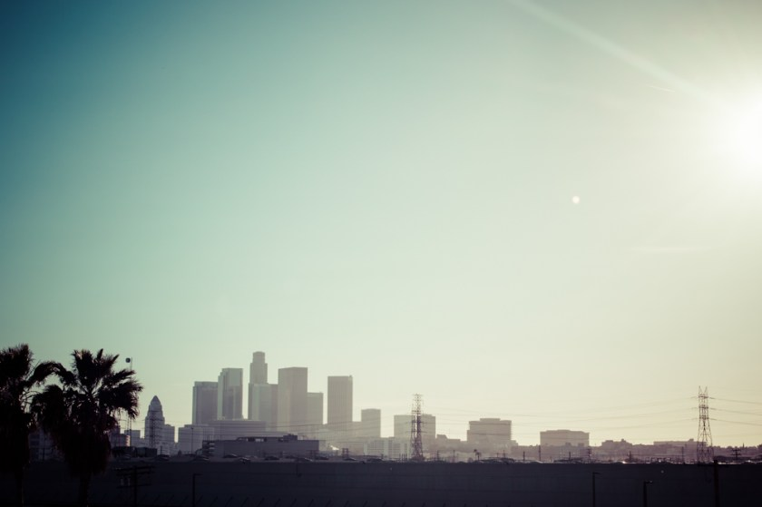Downtown Los Angeles Skyline Colleen Welsch