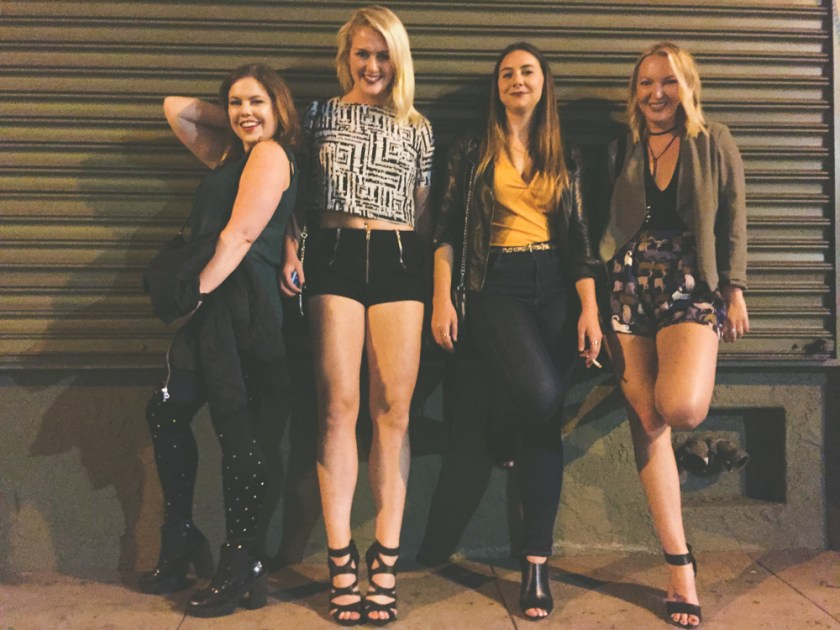 girl band downtown LA