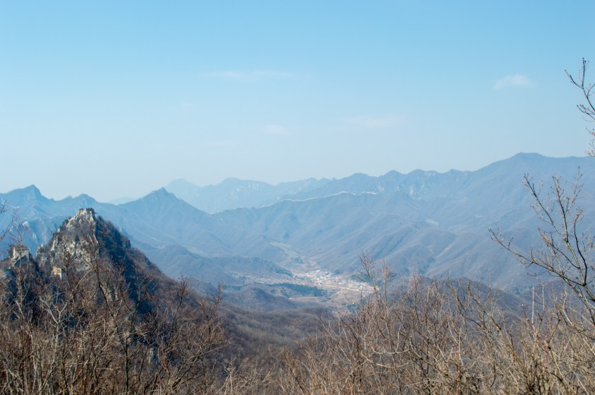 View of the mountains in China. | ColleenWelsch.com