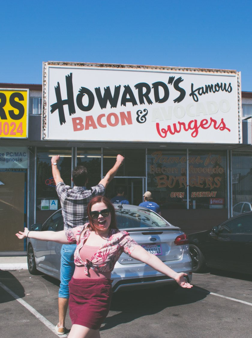 Howard's Famous Bacon & Avocado Burgers in Culver City, California | My Last Weekend in Los Angeles | ColleenWelsch.com