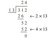 Long Division & Multiplication
