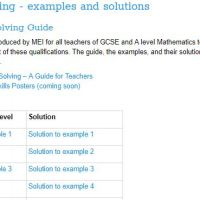 Mathematics Resources (Age 16+)