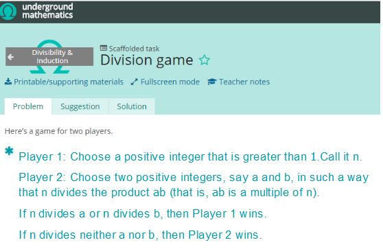 UGM Division Game