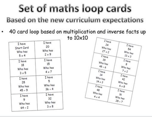 TES Loop Cards