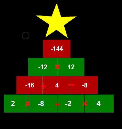 Excel Christmas tree
