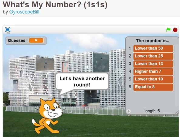 What's My Number project by GyroscopeBill