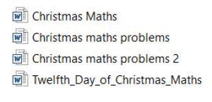 GCSE Christmas
