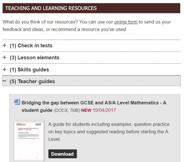 OCR T&L Resources