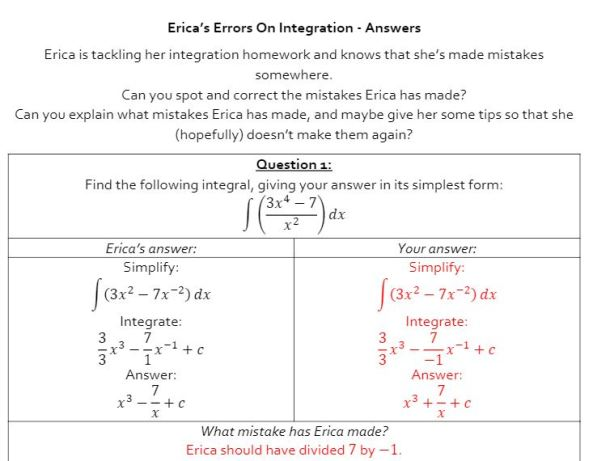 Erica - Integration