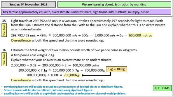 Estimation - TES Resource