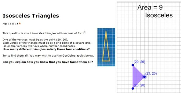 Isoceles Triangles