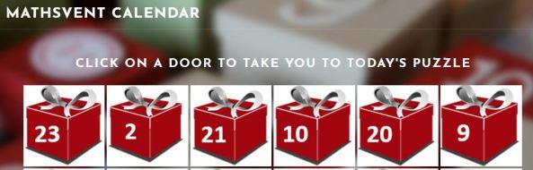 Mathsvent Calendar